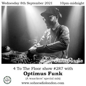 Guest Mix by Optmus Funk -  Waacking special mix (for the waackers) (08/09/2021)