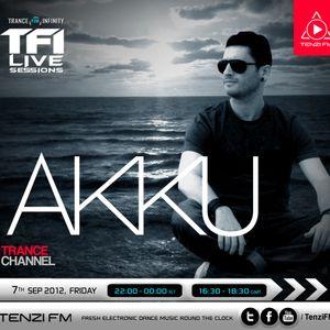 TFI Live Sessions with Akku on Tenzi FM