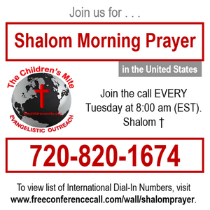 Shalom Morning Prayer-Get Delivered So Your Seed May Live