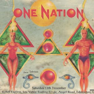 Ellis Dee One Nation 'Under A Groove' Roller Express 11th Dec 1993