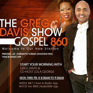 Greg Davis Radio Show April 17th