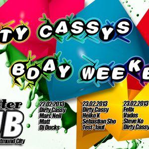 Matt @ Dirty Cassys bday weekend 2013 @ Dortmunds Absoluter Club