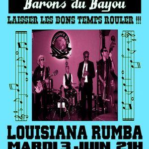 Louisiana Cabaret June 3rd