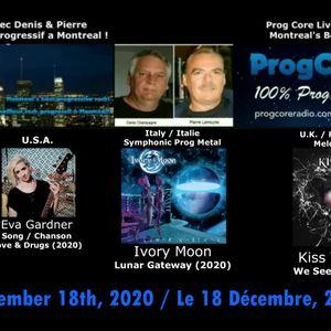 Hommage André Gagnon/ Eva Gardner / Ivory Moon / Kiss the Gun.