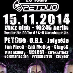 O.B.I. @ Berlin Bleibt Hart 15.11.2014 Mikz Club