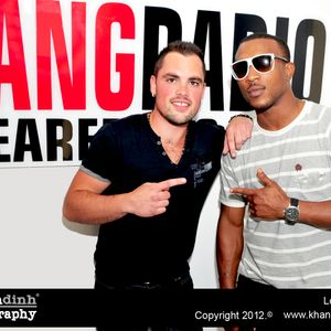 Ashley Walters joins LP at Bang Radio 103.6fm for the #UKfocus show
