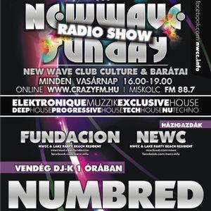 New wave sunday radio show 012 - fundacion