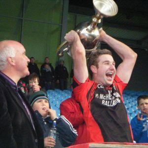 Michael Conroy, Captain of County Intermediate Champions - Davitts Football Team
