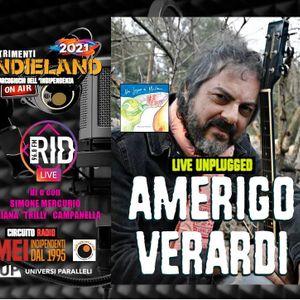 INDIELAND S02E33 seconda parte Bookland: A. Barretta - AMERIGO VERARDI #LiveUnplugged