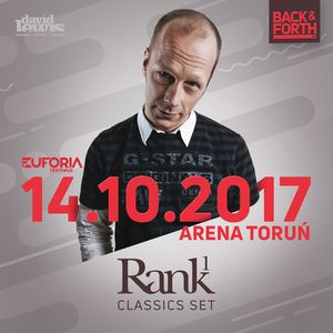 RANK 1 live at EUFORIA FESTIVALS - BACK & FORTH 3.0 (Poland, Toruń 2017-10-14)