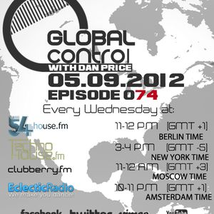 Dan Price - Global Control Episode 074 (05.09.12)