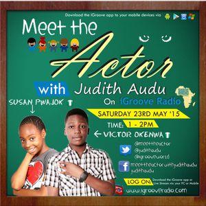meet the actor with Judith Audu ft Victor Okenwa , SuSan pawjok