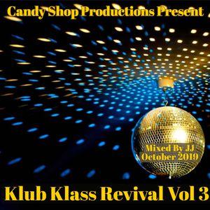 Klub Klass Revival Vol 3 October 2019
