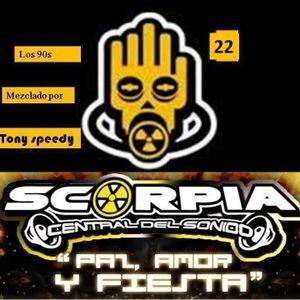 the legend scorpia vol.22