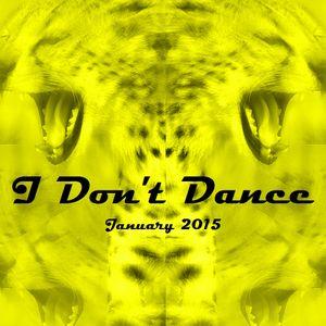 IDD (I Don't Dance) Tech House Mixtape — January 2015
