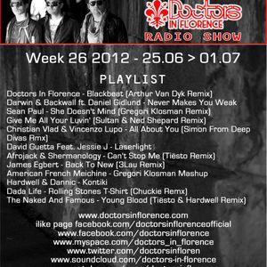Week 26 Doctors In Florence - Doctors In Progress Radio Show