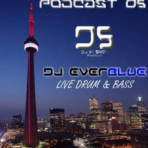 DS (DJ IN SIVAR) PODCAST 05 - DJ EVERBLUE D&B