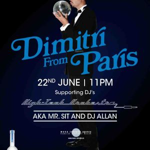 warm up set of dimitri from paris at KEE club HK on 25 jun 12 by HIGH TECH ORCHESTRA