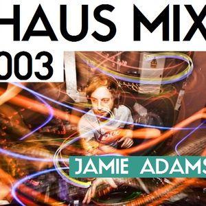 HAUS MIX 003 - Jamie Adams