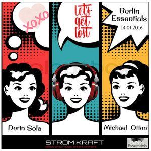 Derin Sola - Berlin Essentials 14.01.2016 (Stromkraftradio.com Podcast )