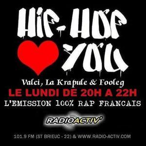 "Hip Hop Loves You ""Hors Saison #10"" 31/08/2015"