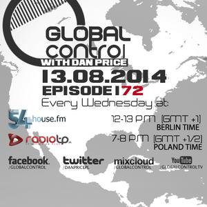 Dan Price - Global Control Episode 172 (13.08.14)