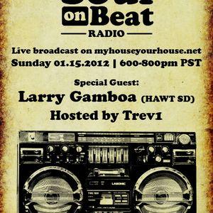 Soul On Beat Radio 01-15-2012