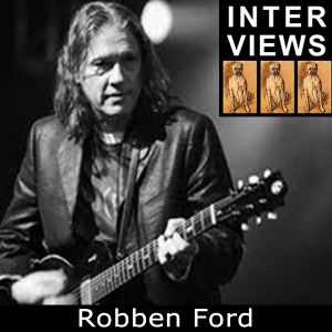 Robben Ford - Salty Interview  (March 2014)