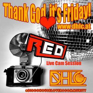 R.E.D. live @ DHLC RADIO [10.01.2014]