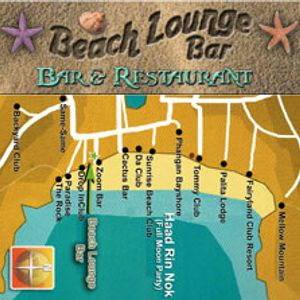 Beach Lounge Bar DJ Rob Full Moon Party Koh Phanga