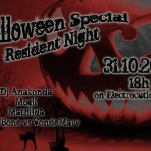 DJ Anakonda @ Electrocution Radio Resident Night Halloween Special