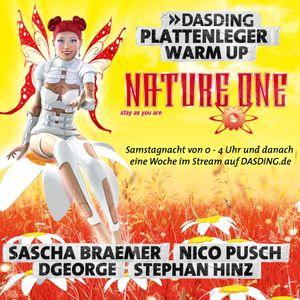 DASDING Plattenleger - Nature One WarmUp 2015