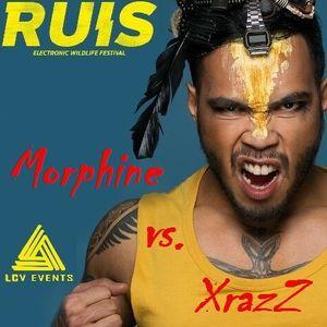 DJ Morphine vs. DJ XrazZ -houseclassics- Live @ Ruis Festival 2016