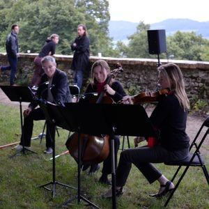 Poésie et Musique à Vézelay, pour le solstice d'été 2015, à 5h52