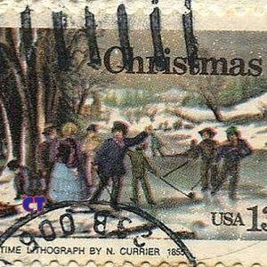 Παντα Ονειρευομουν Ενα Σπιτι Σαν Κυριακη,Τιs Πιο Ωραιεs  Card Postal Χριστουγεννα Στο Χιονι {4: ION}