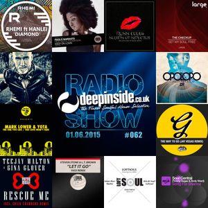 DEEPINSIDE RADIO SHOW 062 (Opolopo Artist of the week)