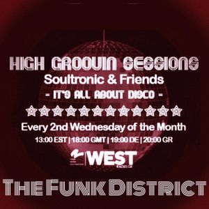 High Groovin Sessions 07/16 with The Funk District