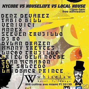 Dylan Drazen - Live @ WMC Global Wave Festival, Whitelaw Hotel, Miami, E.U.A. (23.03.2012)