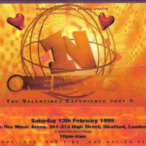 Swanne b2b Nicky Blackmarket One Nation Valentine's Experience Feb 1999