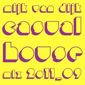 Mijk van Dijk's Casual House Mix, September 2011