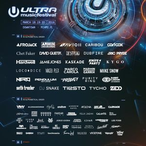 Ultra Music Festival 2016 - Harvard Bass - Resistance Stage - Day 3 (20.03.16)