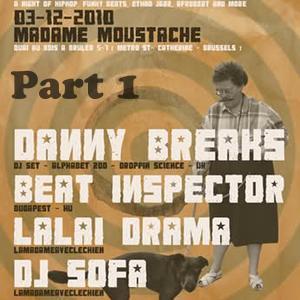 Beatinspector @ Madame Moustache Brussels 2010.12.03. part1