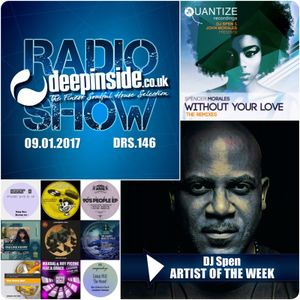 DEEPINSIDE RADIO SHOW 146 (DJ Spen Artist of the week)