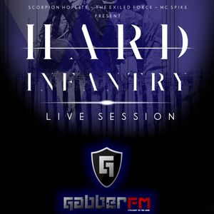 Hard infantry live session on Gabber.fm ft. Paranoizer 23-07-2015