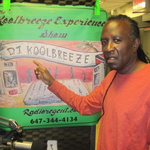 David  Rudder@ Radioregent on the koolbreeze Experience Show