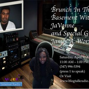 James A. Worthy visits Brunch In The Basement With JaVonne