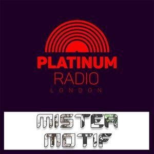 Mister Motif / Sunday 1st Oct 2017 @ 4pm - Recorded Live on PRLlive.com