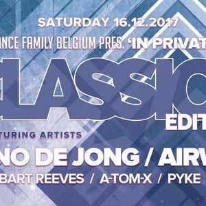dj A-Tom-X @ Trance Family Belgium - In Private 5.0 16-12-2017