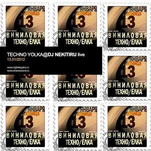 Vinyl's Techno Yolka@Dj Nekituru Live