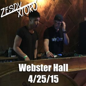 Live Set: Webster Hall NYC 4/25/15 w/ Zesdy